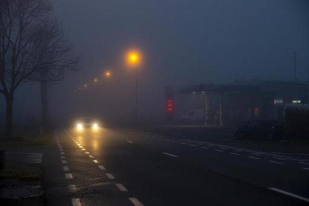 Le brouillard fait plus de 160 tués ou blessés sur les routes chaque année en Belgique
