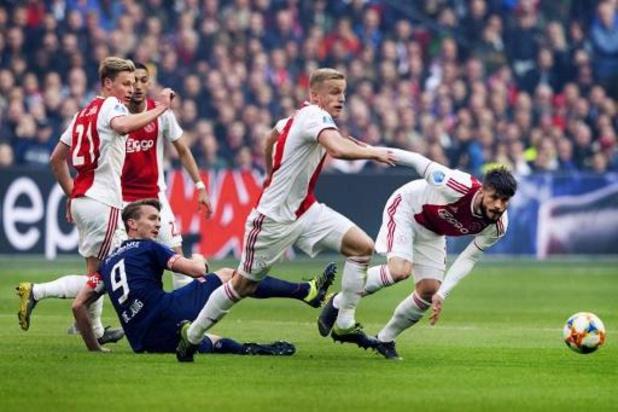 Le championnat néerlandais ne pourra pas reprendre avant septembre