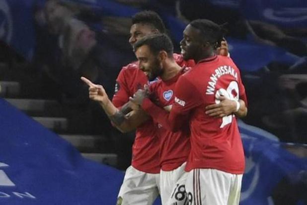 Belgen in het buitenland - Ook Brighton kan United geen strobreed in de weg leggen