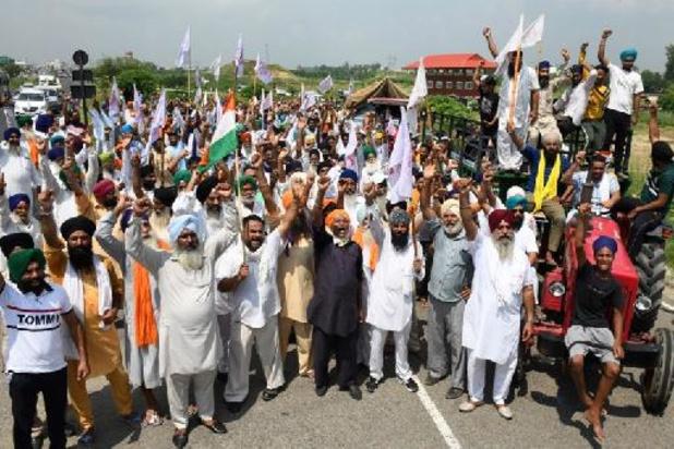 Un demi-million de paysans indiens dans la rue contre la nouvelle loi agricole