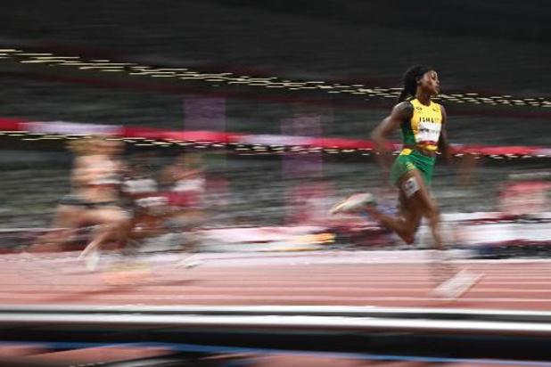 Elaine Thompson-Herah championne olympique du 200 m avec le deuxième chrono de l'histoire