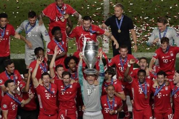 Le Bayern Munich en tête du classement par coefficient des clubs UEFA