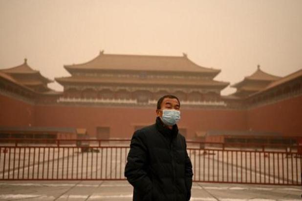 Noorden China getroffen door zwaarste zandstorm in tien jaar
