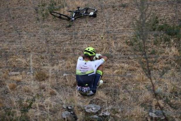 Quinten Hermans et Brent Van Moer abandonnent après une chute