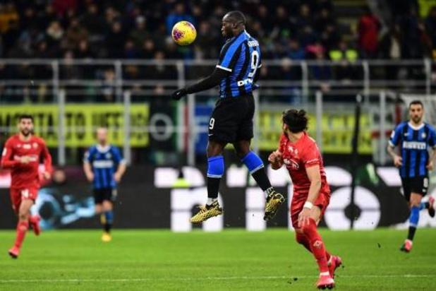 Les Belges à l'étranger - L'Inter et Lukaku renversent le derby milanais après la pause et prennent la tête