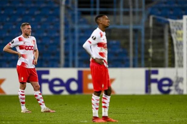 Europa League - Le Standard et La Gantoise dos au mur, l'Antwerp en quête de revanche
