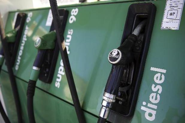Benzine en diesel tanken wordt weer duurder