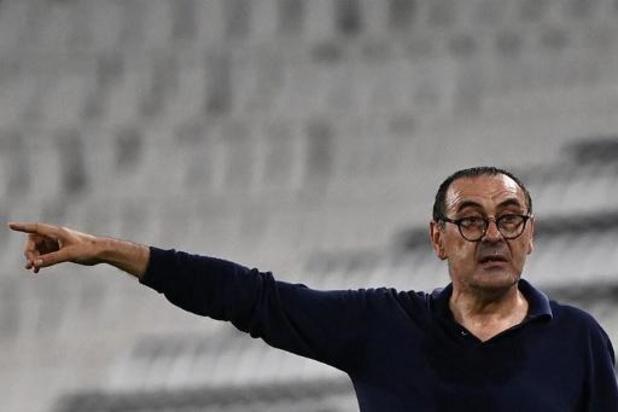 Serie A - Sarri, le coach de la Juventus, ne craint pas pour son avenir