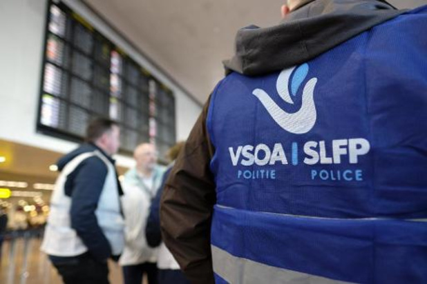 Wachtrijen bij vertrekkende vluchten buiten Schengen-zone op Brussels Airport