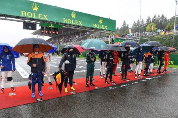 Start Belgische Grand Prix voor onbepaalde tijd uitgesteld