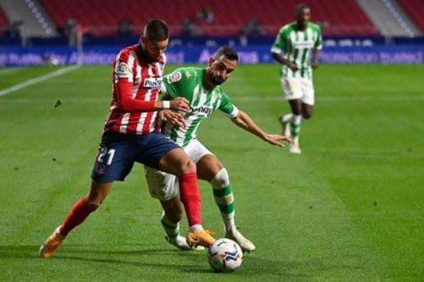 Les Belges à l'étranger - L'Atlético s'impose, Carrasco sort blessé
