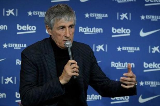 """Quique Setién, nouveau coach de Barcelone : """"Tout gagner et jouer un bon football"""""""