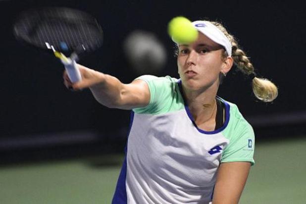 Elise Mertens ontmoet Eugenie Bouchard in kwartfinales