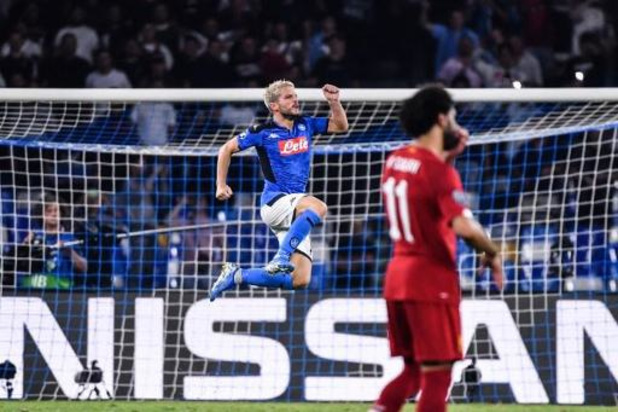 Champions League - Doelpuntenmaker Mertens verschalkt Liverpool, Witsel en Hazard houden Barcelona in bedwang