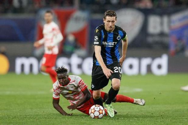Ligue des Champions - Le Club de Bruges réussit l'exploit à Leipzig et partage la tête avec le PSG