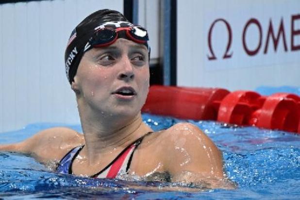 Septième titre olympique pour Katie Ledecky, médaille d'or du 800 m