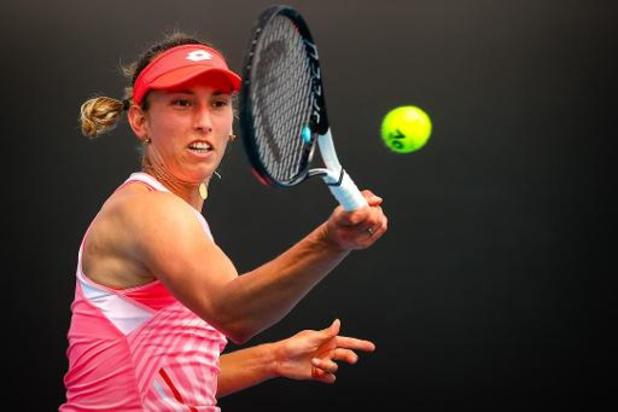 Australian Open - Elise Mertens rekent in derde ronde eenvoudig af met Zwitserse Bencic