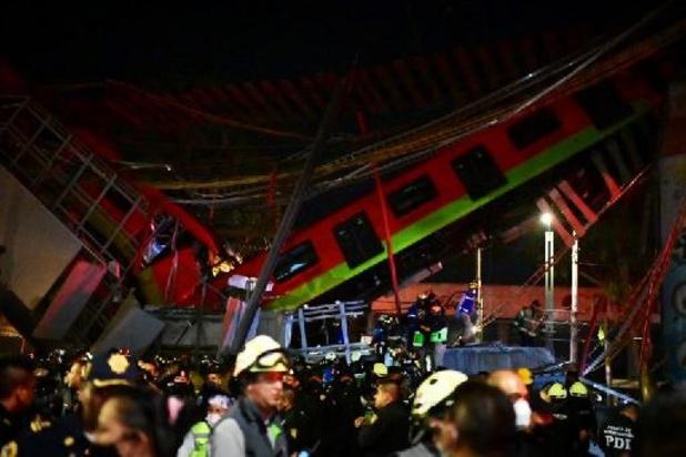 Instorting metrobrug Mexico: Al zeker vijftien doden