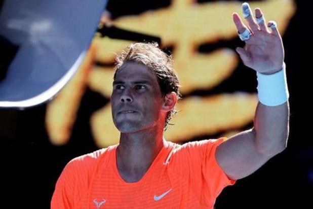 Nadal, Medvedev, Rublev, Kenin et Muguruza avancent au 2e tour de l'Open d'Australie