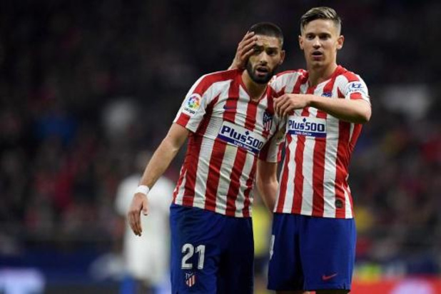 Yannick Carrasco en zijn Atletico-teammaats leveren 70 procent van loon in