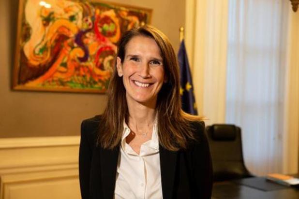 Sophie Wilmès is officieel de nieuwe premier