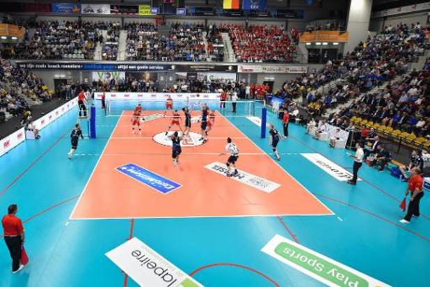 A l'exception de l'élite, le volley sera à l'arrêt en Belgique jusqu'en 2021