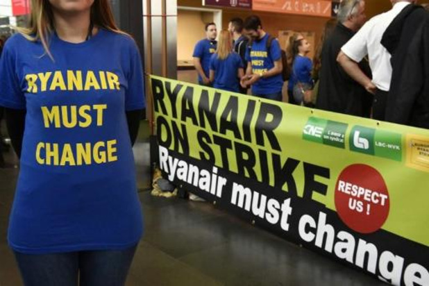 """Ryanair: une journée d'action de """"solidarité internationale"""" en Belgique le 27 septembre"""