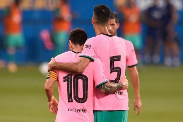 La Liga - Messi treft twee keer raak voor Barça