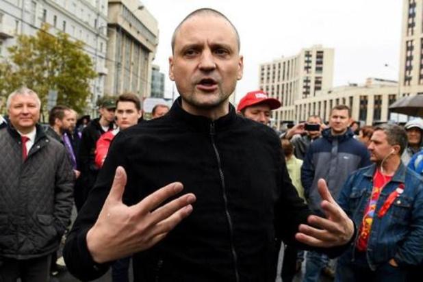 Moscou condamnée par la CEDH pour la répression d'un rassemblement anti-Poutine en 2012