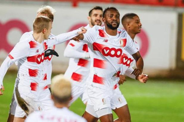 Coupe de Belgique - Le Standard gagne le derby 1-4 à Seraing et avance en huitièmes de finale