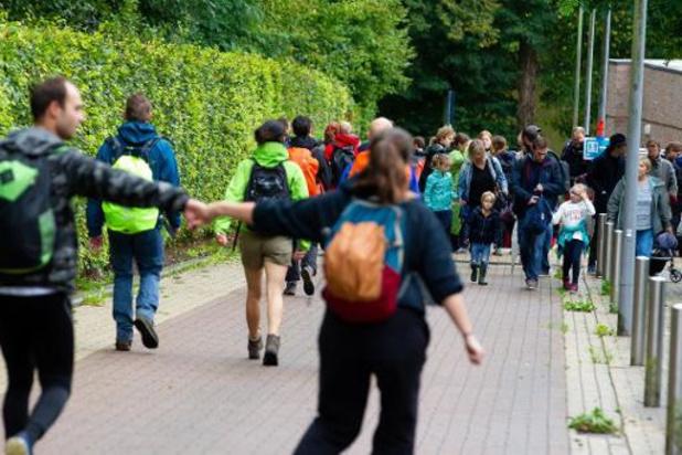 Zesde Refugee Walk voor vluchtelingen in Leuven