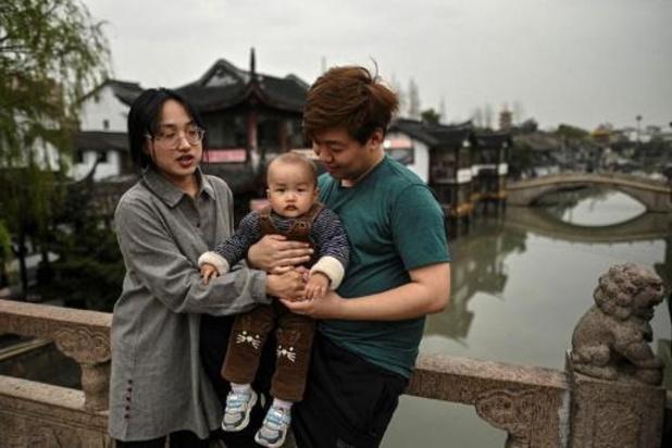 China gaat drie kinderen per gezin toelaten