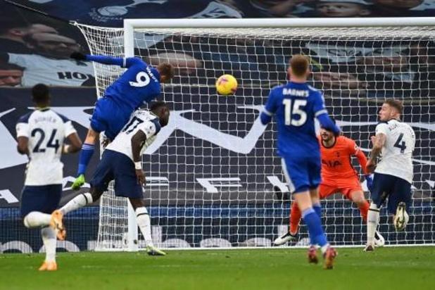 Leicester-Belgen halen het van Tottenham na owngoal Alderweireld