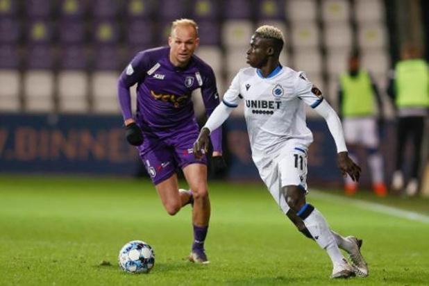 Jupiler Pro League - Pour la dernière de Losada, le Beerschot s'incline contre Bruges qui s'envole en tête
