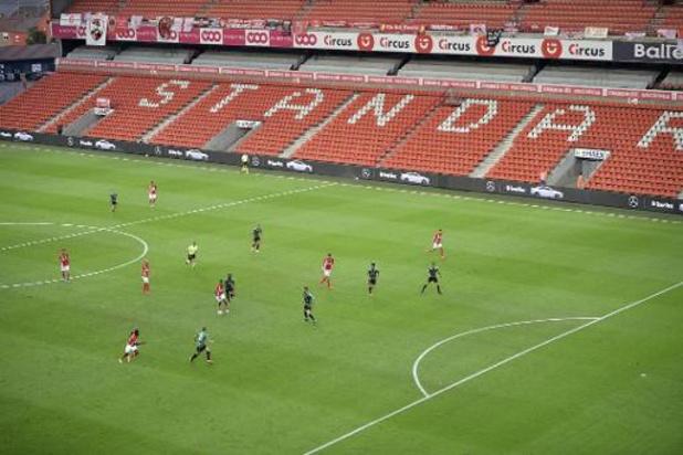 Le Standard pourra accueillir 10.000 supporters à Sclessin