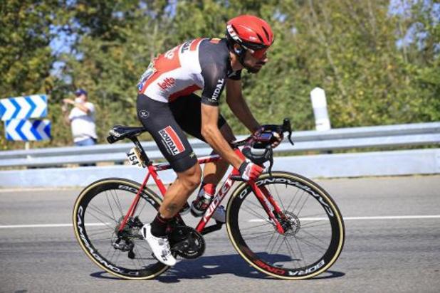 Lotto Soudal avec trois Belges, dont Thomas De Gendt, au Giro