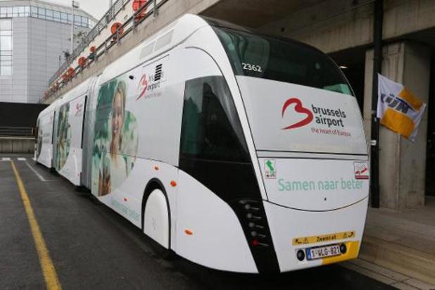 De Lijn inaugure son tram-bus reliant l'aéroport de Bruxelles à Jette