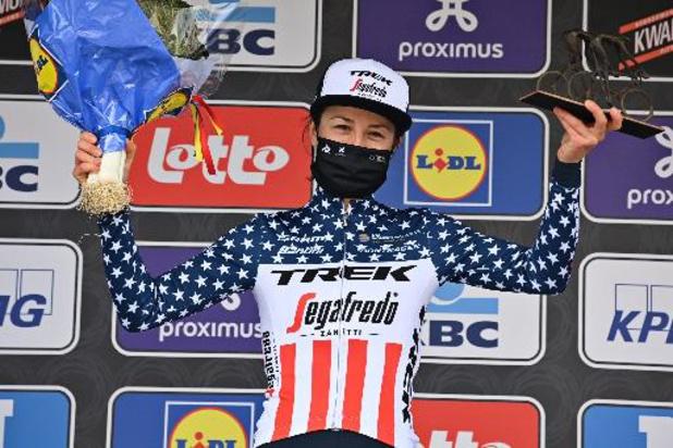 Tour Cycliste Féminin International de l?Ardèche: Ruth Winder wint vierde etappe, Leah Thomas blijft leidster