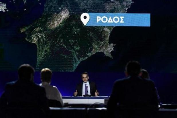 Ouragan en Grèce: le Premier ministre va se rendre dans les zones touchées