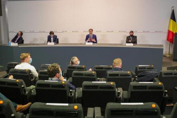 Nog geen beslissing over eventueel vervroegd Overlegcomité