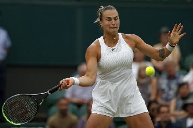 Sabalenka vervoegt Pliskova in halve finales Wimbledon