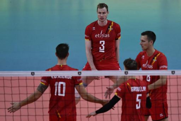 EK volley (m) - Red Dragons spelen zaterdag tegen Oekraïne in achtste finales