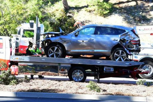 Auto-ongeluk Tiger Woods - Tiger Woods reed harder dan de normale snelheid vlak voor ongeluk
