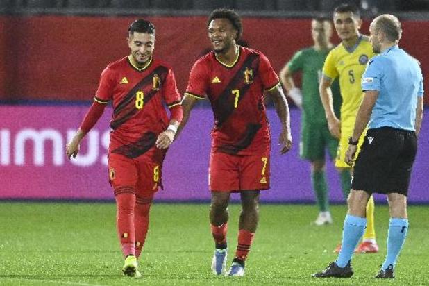 Qualification Euro U21 2023 - Les Diablotins battent le Kazakhstan (2-0) et comptent le maximum de 9 points