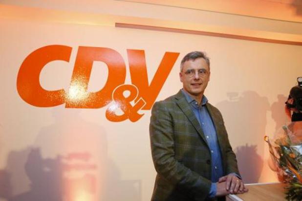 Joachim Coens verkozen tot voorzitter van CD&V