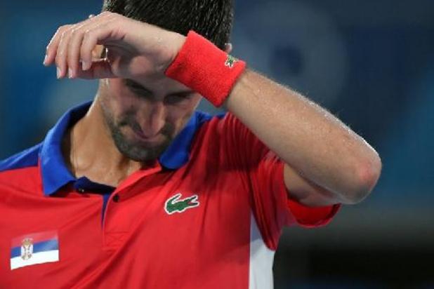 Après sa désillusion en simple, Novak Djokovic aussi battu en double mixte