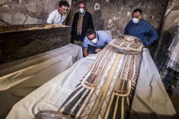 Archeologen ontdekken 3.500 jaar oude doodskisten in Egyptische Luxor