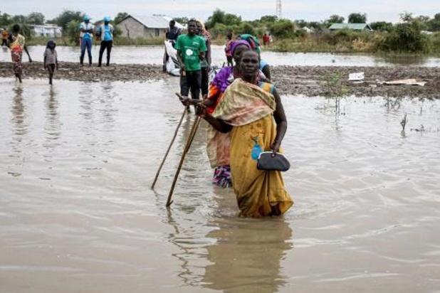 Meer dan 420.000 Zuid-Soedanezen ontheemd door overstromingen