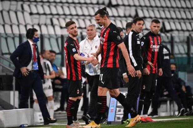 Serie A - Zlatan Ibrahimovic geopereerd aan knie