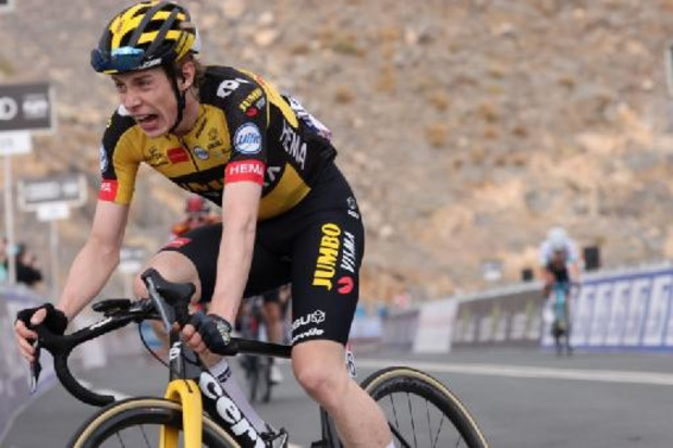 2e étape: coup double du Danois Jonas Vingegaard